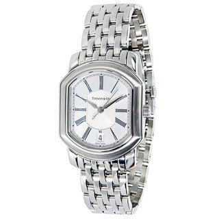 Pre-Owned Tiffany & Co. Mark Coupe 17035479 Mens Watch in Stainless Steel