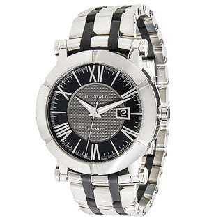 Pre-Owned & Unworn Tiffany & Co. Atlas Stainless Steel Z10000.82.12A10A00A Mens Watch