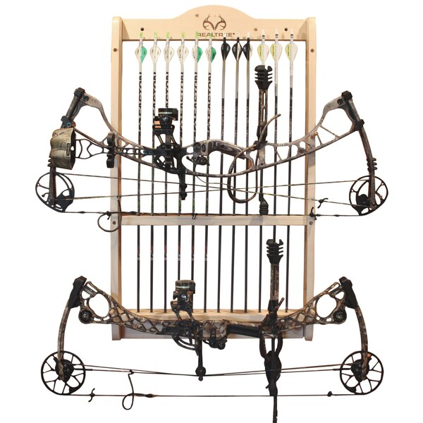Realtree 2-bow 12-arrow Wall Rack