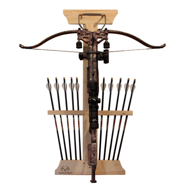 Realtree Wood 10-arrow Cross Bow Rack