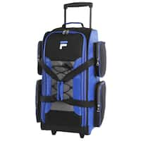 Fila Multicolor 26-inch Lightweight Medium Check-in Rolling Duffel Bag