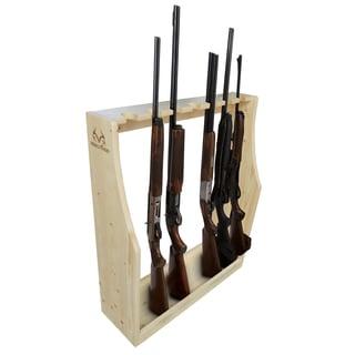 7-Gun Floor Rack