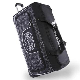 Ecko Unlimited Alpha Blue 32-inch Large Rolling Duffel Bag