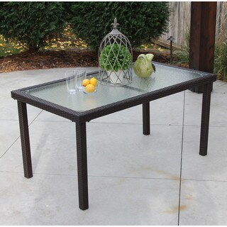 Recessed Outdoor Rectangle Table