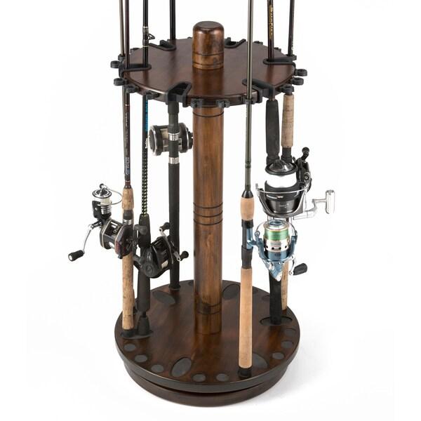 30-Rod Spinnig Rack