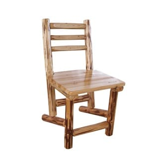Exceptionnel Slant Back Solid Pine Dining Chair