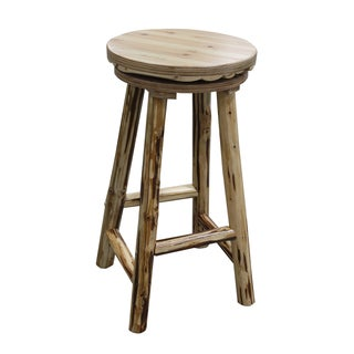 Swivel Ladder Natural Barstool Free Shipping Today