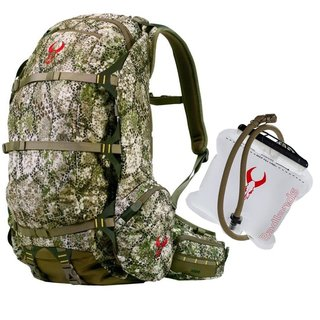 Badlands 2200 Ultimate Hunting Pack (Approach Camo) & 2-L Hydration Reservoir