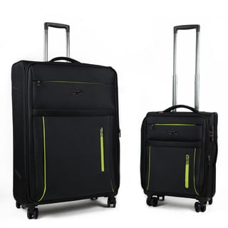American Green Travel Soteria 2-Piece Spinner Expandable Luggage Set
