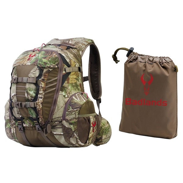 Badlands Stealth Day Hunting Backpack (Realtree Xtra) with Waterproof Rain  Cover 40fcf7f840