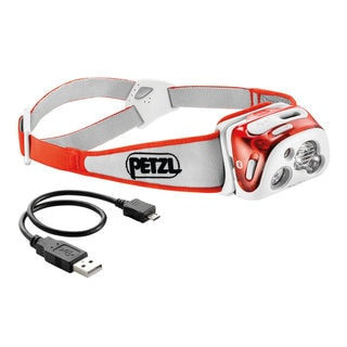 Petzl E95 HMI REACTIK + Coral Headlamp