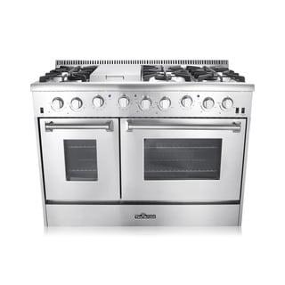 "Thor Kitchen 48"" Double Oven Gas Range (HRG4804U)"