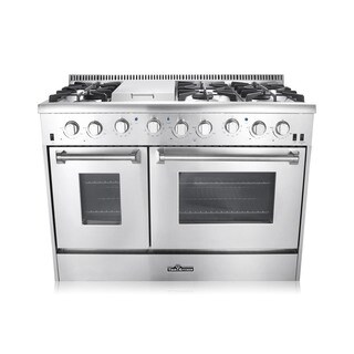 "Thor Kitchen 48"" Double Oven Gas Range (HRG4804U)"