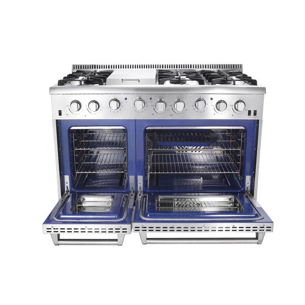 Appliances Thor Kitchen HRG4804U 6 Burner Gas Range with Double ...