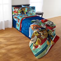 Paw Patrol Puppy Hero Twin 4-piece Bed in a Bag with Sheet Set
