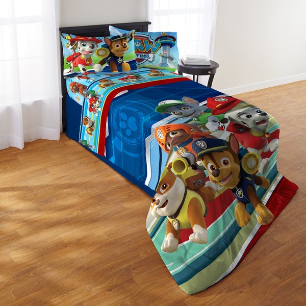 Shop Paw Patrol Puppy Hero Twin 4 Piece Bed In A Bag With