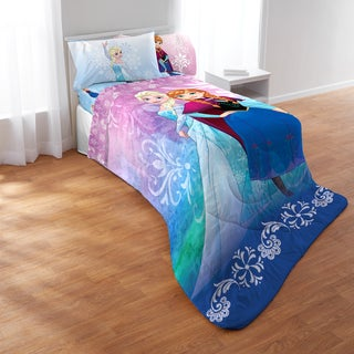 Frozen Nordic Frost Full 5-piece Bed in a Bag with Sheet Set