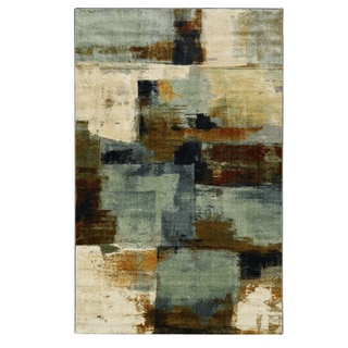 Mohawk Home Aurora Cool Abstraction Area Rug (7'6 x 11')