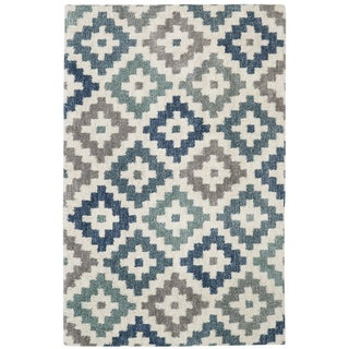 Link to Mohawk Home Diamond Head Woven Area Rug Similar Items in Shag Rugs