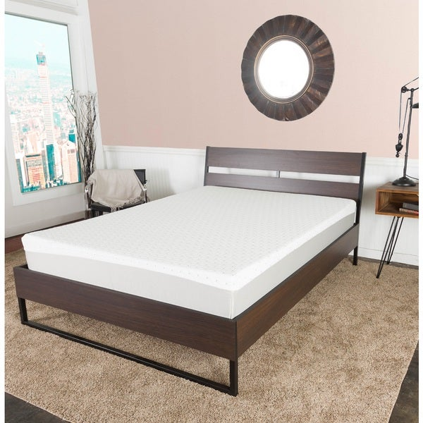 shop icon sleep by somette 10 inch full xl size gel memory foam mattress free shipping today. Black Bedroom Furniture Sets. Home Design Ideas