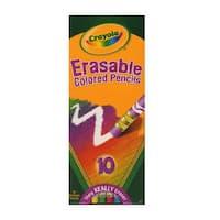 Crayola Erasable Colored Pencils (4 Packs of 10 Pencils)