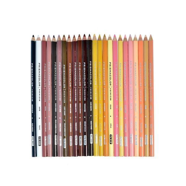 Shop Prisma Color 24-piece Portrait Sketch Pencil Kit