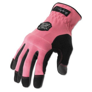 Ironclad Tuff Chix Women's Gloves Pink/Black Large