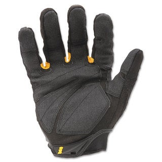 Ironclad SuperDuty Gloves Medium Black/Yellow 1 Pair