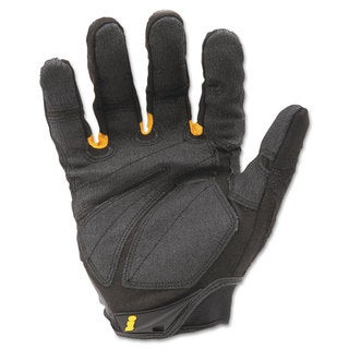 Ironclad SuperDuty Gloves. X-Large Black/Yellow 1 Pair