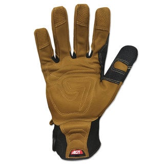 Ironclad Ranchworx Leather Gloves Black/Tan X-Large