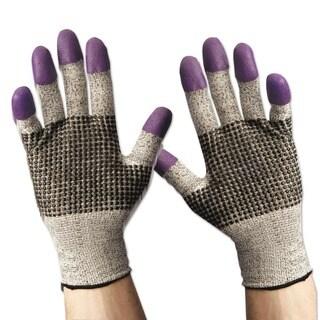 Jackson Safety G60 Purple Nitrile Gloves Large/Size 9 Black/White 12 Pair/Carton