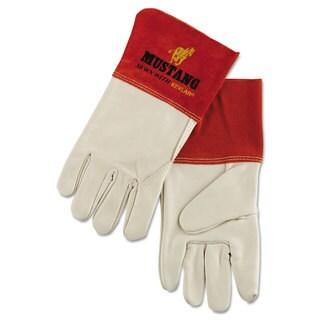 Memphis Mustang Mig/Tig Welder Gloves Tan Extra Large 12 Pairs