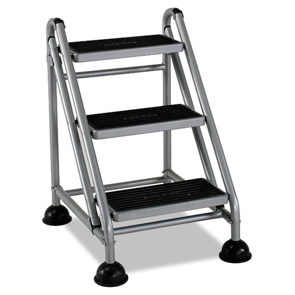Shop Cosco Rolling Commercial Step Stool 3 Step 26 3 5