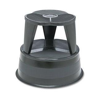 Cramer Kik-Step Steel Step Stool 350 -pound Capacity 16 inches diameter x 14 1/4-inch high Black