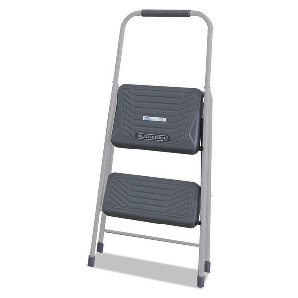 Shop Louisville Black And Decker Steel Step Stool Two Step