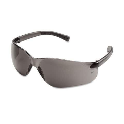 Crews BearKat Safety Glasses Wraparound Grey Lens