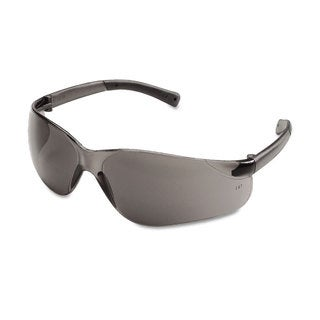 Crews BearKat Safety Glasses Wraparound Grey Lens