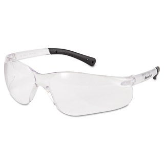 Crews BearKat Safety Glasses Frost Frame Clear Lens