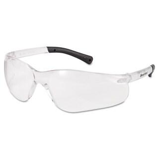 Crews BearKat Safety Glasses Frost Frame Clear Lens