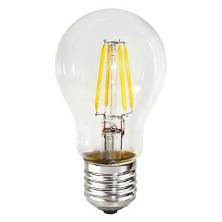 Goodlite 7W A19 LED Dimmable Clear Light Bulb, with 60W Equivalent 850 Lumens E26 Base (Pack of 10)