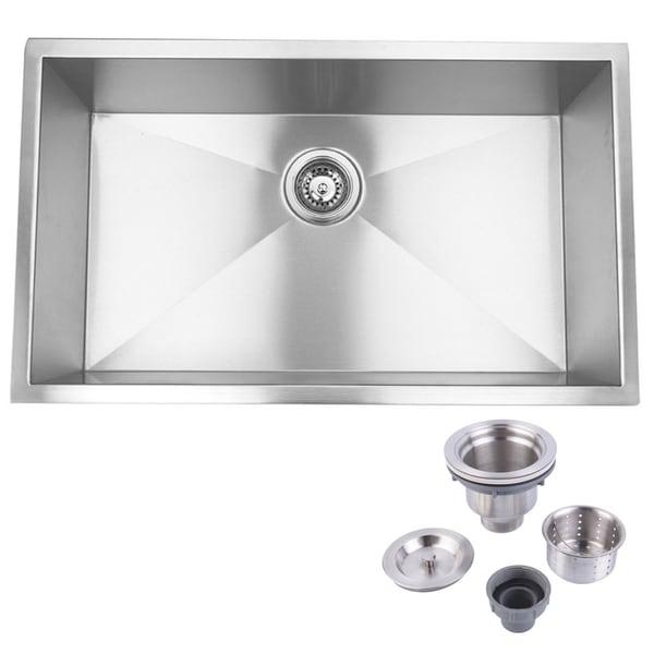 Undermount Farmhouse Kitchen Sink hardy single bowl stainless steel undermount farmhouse kitchen