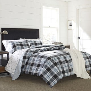 Eddie Bauer Lewis Plaid Cotton Duvet Cover Set