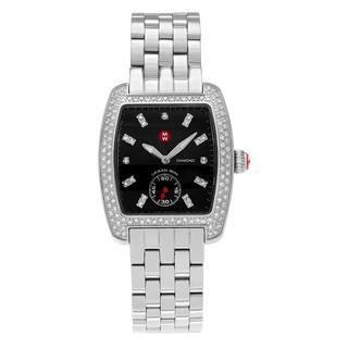 Michele Women's MWW02A000403 'Urban Mini' Stainless Steel 3/4 CT TDW Diamond Link Bracelet Watch https://ak1.ostkcdn.com/images/products/13950467/P20580299.jpg?impolicy=medium