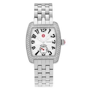 Michele Women's 'Mini Urban' MWW02A000124 5/8 CT TDW Diamond Link Bracelet Watch