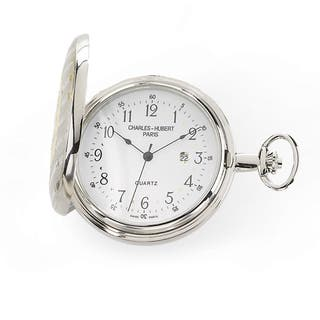 Charles Hubert Two-tone White Dial Pocket Watch|https://ak1.ostkcdn.com/images/products/13950489/P20580329.jpg?impolicy=medium