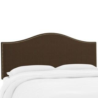 Custom Twill Nail Button Headboard- Skyline Furniture