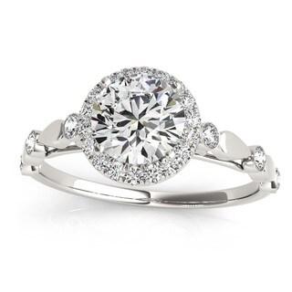 Transcendent Brilliance 14k White, Rose Or Yellow Gold 1 1/3ct TDW White Diamond Vintage Style Engagement Ring (F-G, VS1-VS2)
