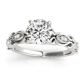 Transcendent Brilliance 14k White, Rose Or Yellow Gold 1 1/10ct TDW White Diamond Antique Style Engagement Ring (G-H, VS1-VS2)