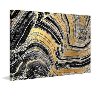 Marmont Hill - 'Gold Etchings' Painting Print on Wrapped Canvas