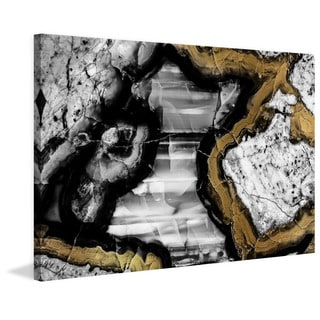 Marmont Hill - 'Center Caving' Painting Print on Wrapped Canvas